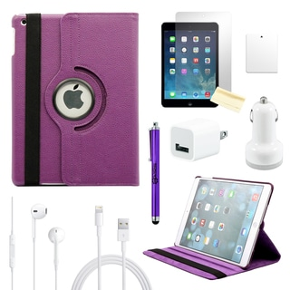 Gearonic 360 Rotating PU Leather Case Cover for Apple iPad 5 Air