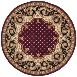 Safavieh Handmade Naples Multicolored Wool Rug (4' Round)