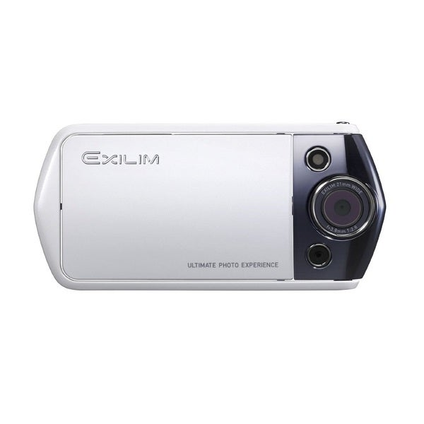 Casio Exilim EX-TR10 12.1MP White Digital Camera