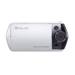 Casio Exilim EX-TR10 12.1MP White Digital Camera