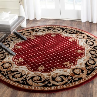 Safavieh Handmade Naples Multicolored Wool Rug (6' Round)