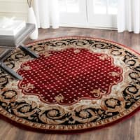 Safavieh Handmade Naples Multicolored Wool Rug - 6' x 6' Round
