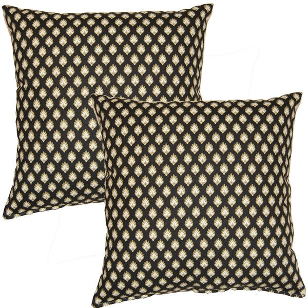 Ella Shadow 17-in Throw Pillows (Set of 2)