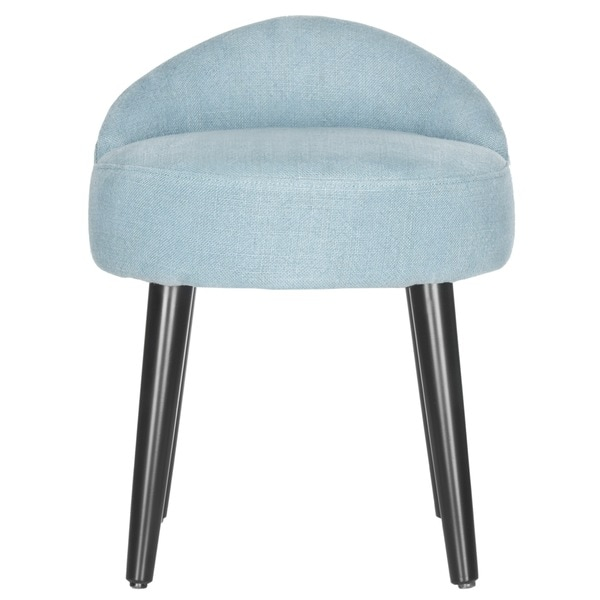 Gentil Safavieh Mid Century Modern Brinda Light Blue Vanity Chair