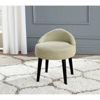 Safavieh Mid-Century Modern Brinda Green Mist Vanity Chair