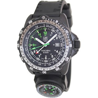 Luminox Men's 'Recon' Black Tritium Illumination Watch