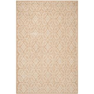 Safavieh Hand-hooked Chelsea Gold Wool Rug (7'9 x 9'9)