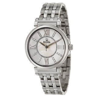 Bulova Women's 96P134 'Diamonds' Stainless Steel Japanese Quartz Watch