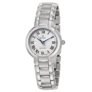 Bulova Women's 96L168 'Precisionist Fairlawn' Stainless Steel Japanese Quartz Watch