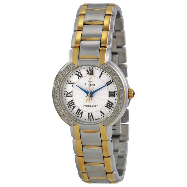Bulova Women's 98R161 'Precisionist Fairlawn' Stainless Steel Yellow Gold-Plated Japanese Quartz Wat