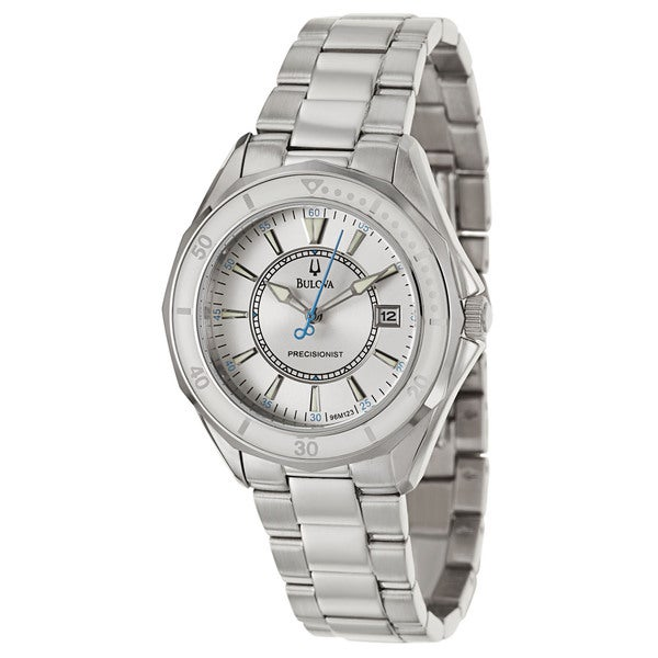 Bulova Women's 96M123 'Precisionist Winter Park' Stainless Steel Japanese Quartz Watch