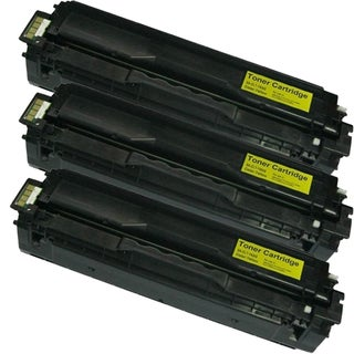 Samsung CLP-415 (CLT-Y504S) Yellow Compatible Laser Toner Cartridges (Pack of 3)