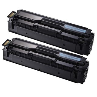 Samsung CLP-415 (CLT-C504S) Cyan Compatible Laser Toner Cartridges (Pack of 2)