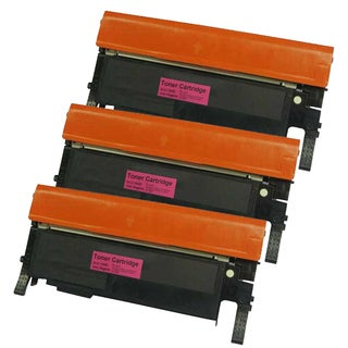 Samsung CLT-M406S (CLP-365) Compatible Magenta Laser Toner Cartridges (Pack of 3)