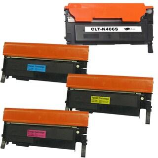Samsung CLP-365 BCYM Compatible Laser Toner Cartridge Set (Pack of 4)