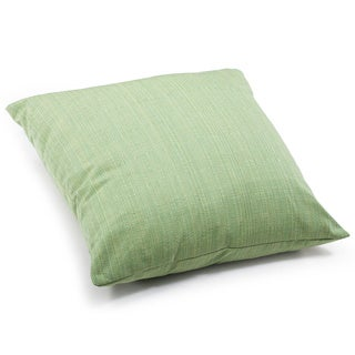 Parrot Lime Mix Thread Outdoor Pillow
