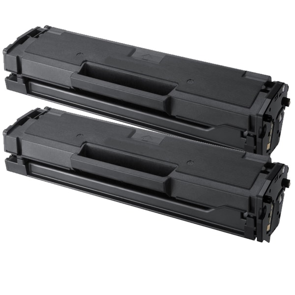 Samsung MLT-D101S Black Compatible Laser Toner Cartridge (Pack of 2)