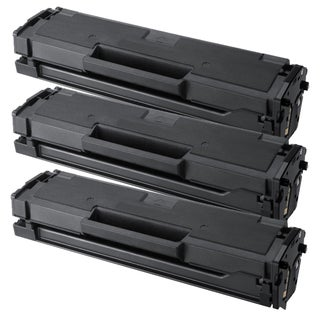 Samsung MLT-D101S Compatible Black Laser Toner Cartridge (Pack of 3)