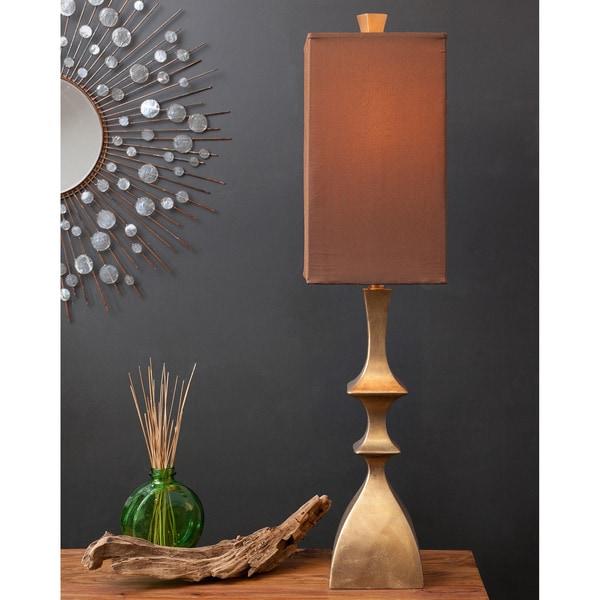 Glamorous Gold Geometric Table Lamp