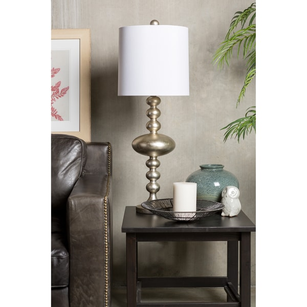 Sparkling Stacked Circle Table Lamp