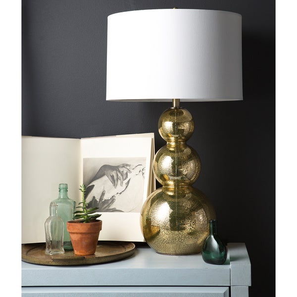 Glamorous gold glass table lamp free shipping today overstock glamorous gold glass table lamp aloadofball Images