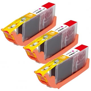 Compatible Canon CLI-251XL/ 6450B001 High Yield Magenta Ink Cartridges (Pack of 3)