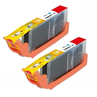 Compatible Canon CLI-251XL/ 6449B001 High Yield Cyan Ink Cartridges (Pack of 2)