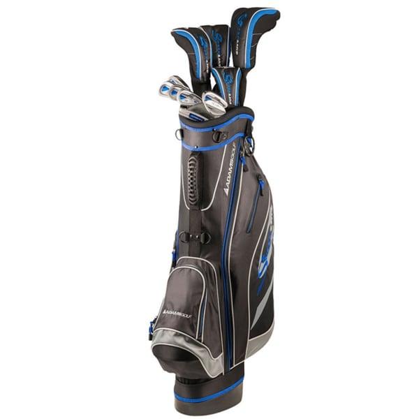 Adams Golf Men's Speedline Complete Set Golf Clubs With Bag