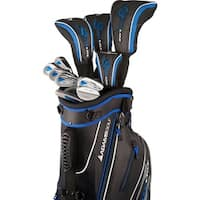 Adams Golf Men's Speedline Complete Set Golf Clubs With Bag