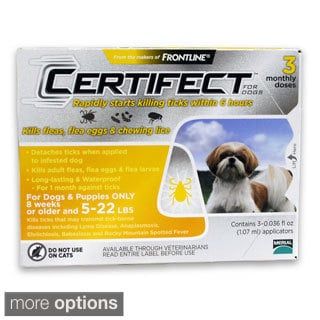 Certifect Flea and Tick Treatment for Dogs