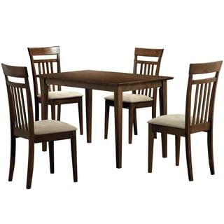 Walnut 5-piece Dining Room Set