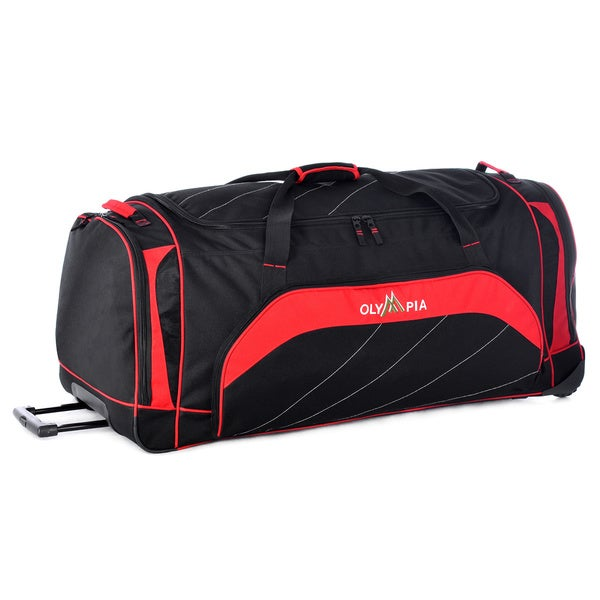 Shop Olympia Mammoth 40-inch Jumbo Sized Rolling Upright Duffel Bag ... b767c437c3d22