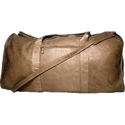 David King Leather 304 Duffel Bag Cafe