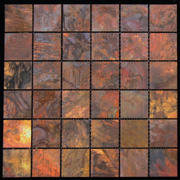 Legion Furniture Copper Wall Tiles Free Shipping On