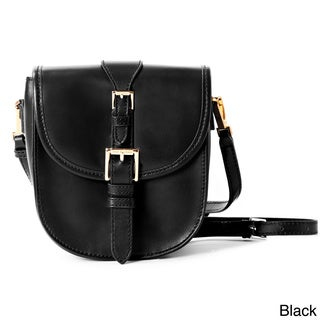 Isaac Mizrahi Jane Genuine Leather Crossbody Camera and Tech Bag