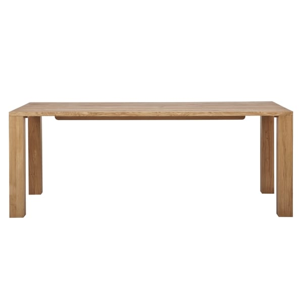 Marko Natural Finish 65-inch Dining Table
