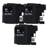 Brother LC103 Black Compatible Ink Cartridge (Remanufactured) (Pack of 3)