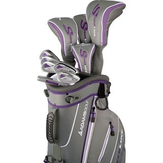 Adams Golf Women's Speedline Complete Set Golf Clubs With Bag