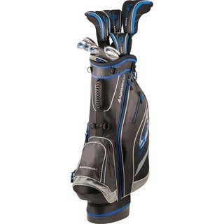 Adams Golf Men's Senior Speedline Complete Set Golf Clubs With Bag