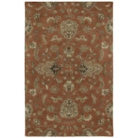 Hand-tufted Royal Taj Copper Wool Area Rug (9'6 x 13')