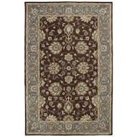 Hand-tufted Royal Taj Brown Wool Area Rug (9'6 x 13')