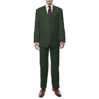 Ferrecci Men's Green 2-button Suit