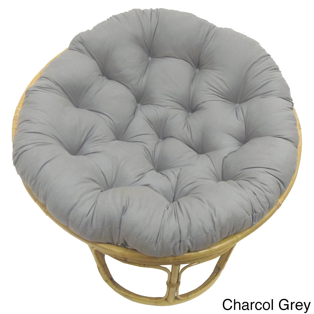 Orient Celebration Solid 45-inch Tufted Papasan Cushion (...