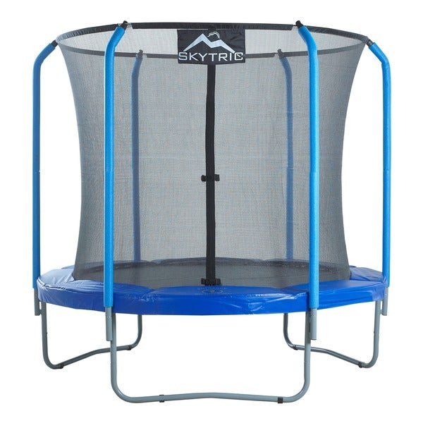 Propel 14 Trampoline With Fun Ring Enclosure: Skytric Trampoline With Top Ring Enclosure System