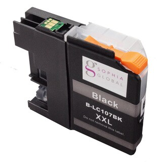 Sophia Global Compatible Ink Cartridge Replacement for LC107 XXL (1 Black)