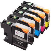 Sophia Global Compatible LC107 XXL and LC105 XXL Ink 5-cartridge Replacement Set
