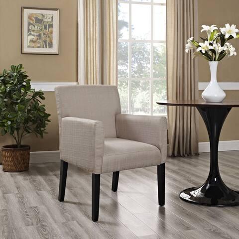 Chloe Wood Beige or Grey Armchair