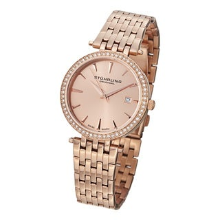 Stuhrling Original Women's Garland Swiss Quartz Bracelet Watch
