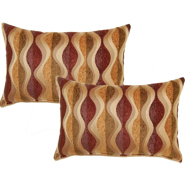 Should I Throw Away Old Pillows : Pipeline Harvest 12.5-in Throw Pillows (Set of 2) - Free Shipping Today - Overstock.com - 15941995