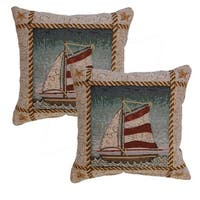 Cape Elizabeth 12.5-in Throw Pillows (Set of 2)
